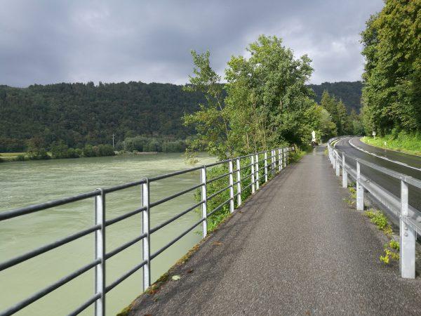 rowerem wzdłuż Dunaju