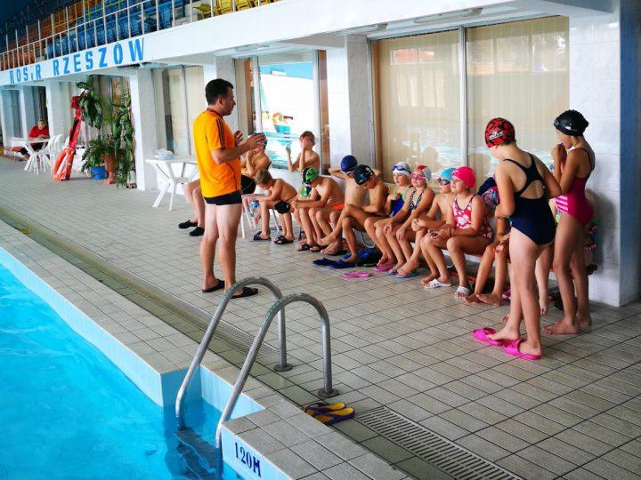 Nauka pływania w SP Nr 1
