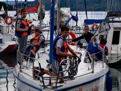 obóz żeglarski